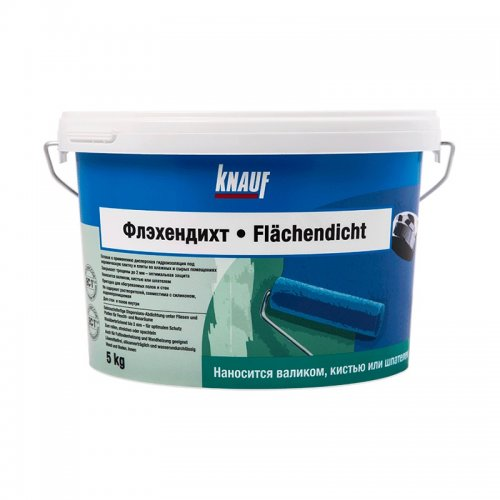 Гидроизоляция на латексной основе Кнауф Флэхендихт, 5 кг