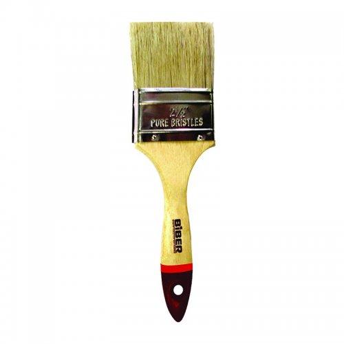 """Кисть флейцевая """"Суприм"""" 25мм натур. щетина, дерев. ручка"""
