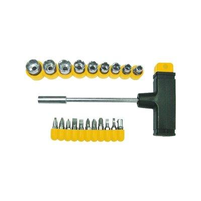 Отвертка с Т-образной ручкой (22 предмета)
