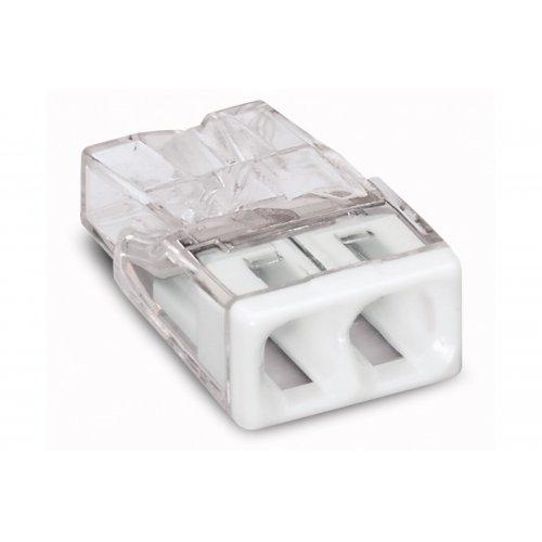 Колодка клеммн. WAGO 2-х проводная (0,5-2,5мм2) паста