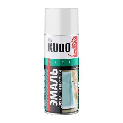Эмаль для ванн белая (0,52л) КУДО KU-1301