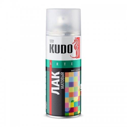 Грунт-эмаль для пластика графит аэрозольная КУДО KU-6004 (0,52л)