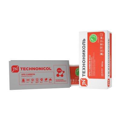 Экструдированный пенополистирол ТЕХНОНИКОЛЬ XPS CARBON ECO 1200х600х20-L (1шт)
