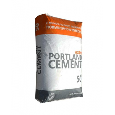 Цемент М500 Д20 ЦЕМ II А-Ш 42,5 (50кг)