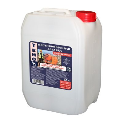 Противоморозная добавка для цементных растворов до -15С, 10 л