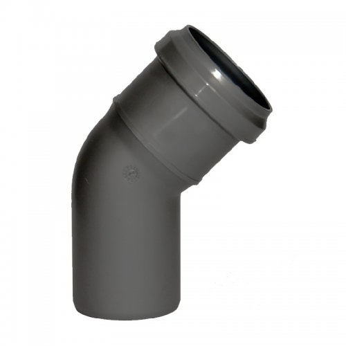 Отвод внутренний d=110 мм, 45°
