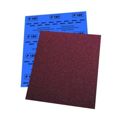 Шкурка шлифовальная ВОДОСТОЙКАЯ Р80 230х280мм на тканевой основе (уп.10л)