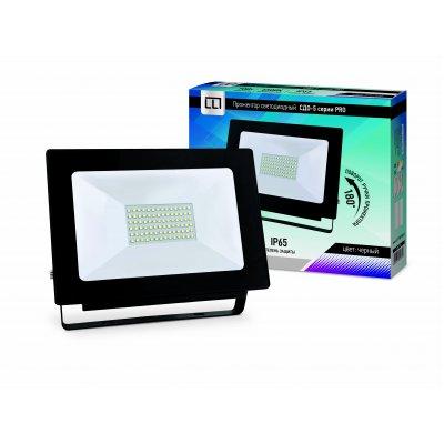 Прожектор LED СДО-5-70 серии PRO 70Вт 230В 6500К 6650Лм IP65 LLT