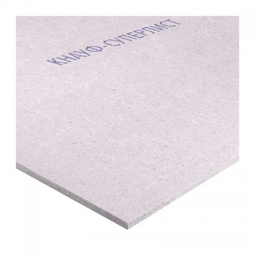 Гипсоволокнистый лист влагостойкий (ГВЛВ) 10мм (2500х1200) Кнауф