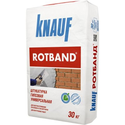 Штукатурка Кнауф Ротбанд (Knauf Rotband) 30 кг