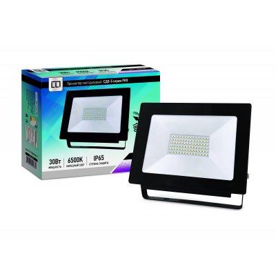 Прожектор LED СДО-5-30 серии PRO 30Вт 230В 6500К 2850Лм IP65 LLT