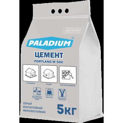 Цемент серый М500 PORTLAND PALADIUM 5 кг
