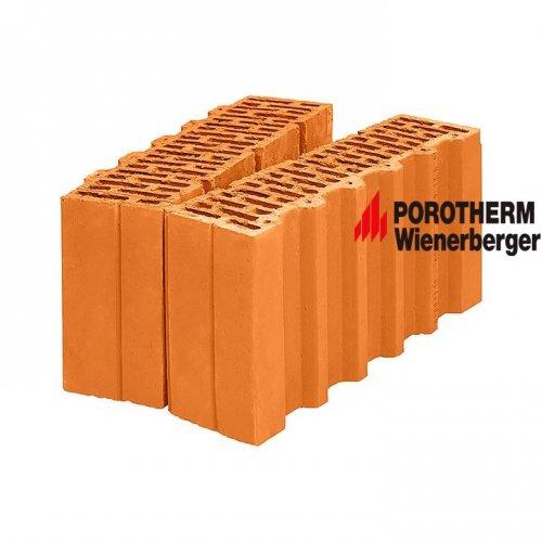 Керамический поризованный доборный блок Porotherm 38 1/2 Wienerberger
