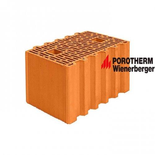 Керамический поризованный блок Porotherm 38 GL (Green Line) Wienerberger