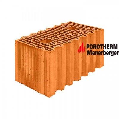 Керамический поризованный блок Porotherm 44 GL (Green Line) Wienerberger