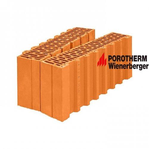 Керамический поризованный доборный блок Porotherm 51 1/2 Wienerberger