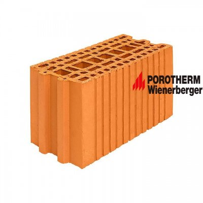 Керамический поризованный блок для перегородок Porotherm 20 Wienerberger