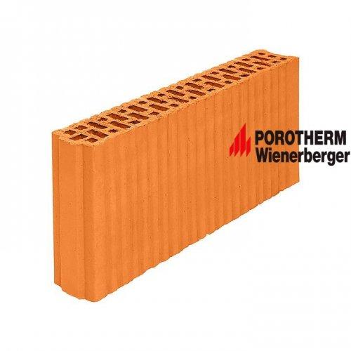 Керамический поризованный блок для перегородок Porotherm 8 Wienerberger
