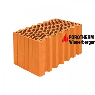 Керамический поризованный блок Porotherm 44 Wienerberger