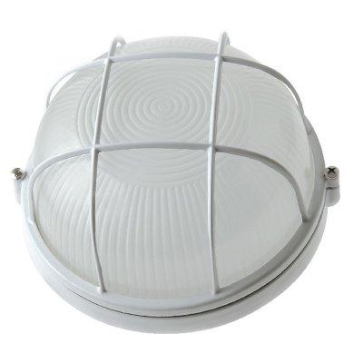 Светильник влагозащищенный Round WP 60 01 01 круг/бел/реш 60Вт