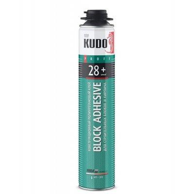 Пена-цемент KUDO ПРОФФ 28+ 1000мл всесезонная
