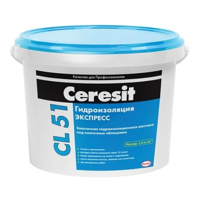 Полимерная эластичная гидроизоляция Церезит СL51 (5 кг)
