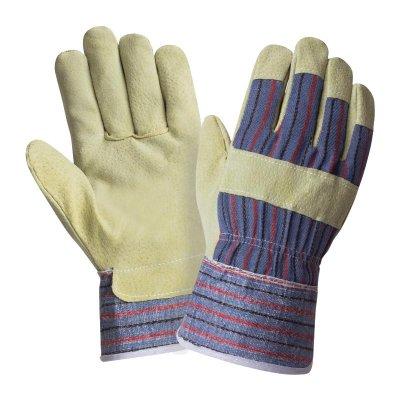 Перчатки кожаные спилковые