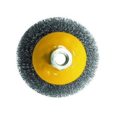 Щетка-крацовка дисковая 100мм М14 для УШМ