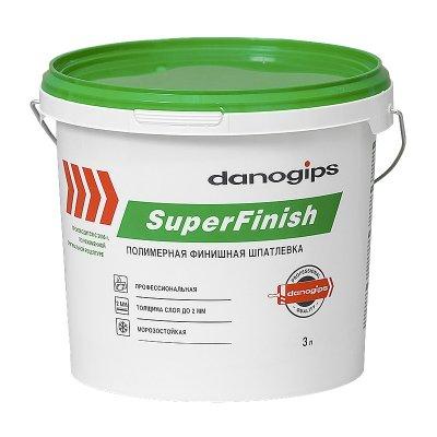 Шпаклевка СуперФиниш, готовая, 5 кг
