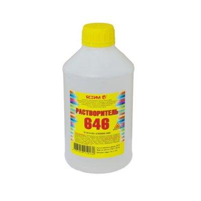 Растворитель 646 (1л) ЯСХИМ