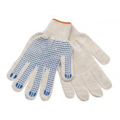 Перчатки вязаные х/б 5 ниток с ПВХ