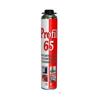 Пена монтажная 65 PRO PROFIL 820мл