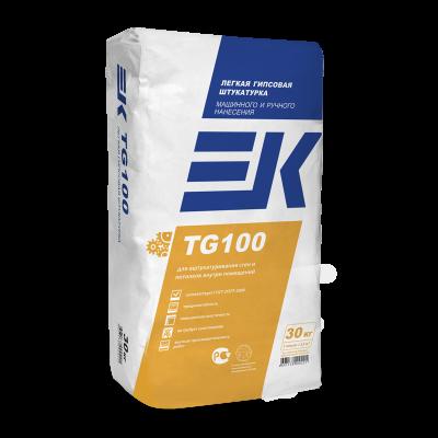 Штукатурка гипсовая ЕК ТГ100 (30кг)