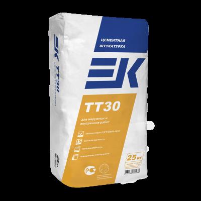 Штукатурка цементно-известковая с легким наполнителем EK TТ50 (25кг)