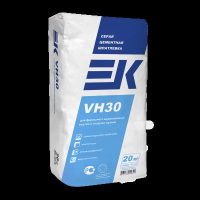 Шпатлевка фасадная серая EK VH30 (20кг)