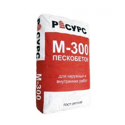 Пескобетон М-300 РЕСУРС (40кг)