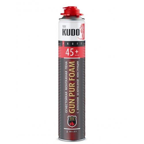 Пена огнестойкая профи 1000мл/900г KUDO PROFF 45+