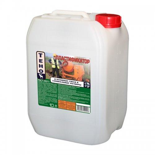 Пластификатор для цементных растворов и бетона, 10 л