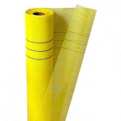 Сетка стеклотканевая фасадная (5х5мм), 1х50м, 160г/м2