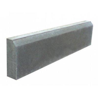 Бордюр серый Тротуарный 500х210х65