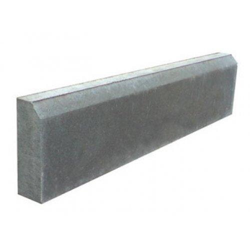 Бордюр серый 1000х200х80