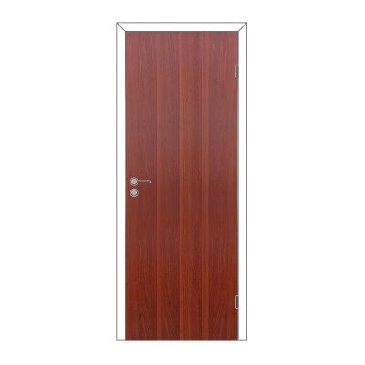 Полотно дверное Олови 900х2000 Итальянский орех, глухое, с замком 2014