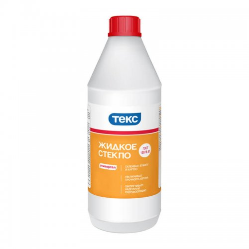 Жидкое стекло (1,3кг) Текс
