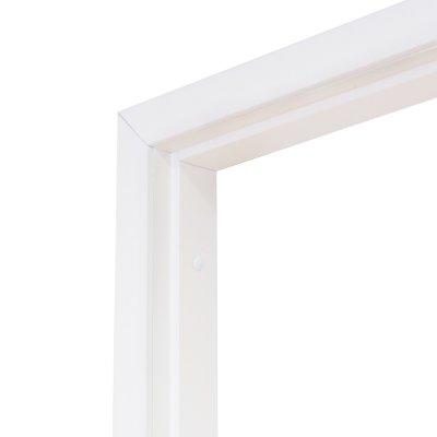 Коробка дверная Олови белая ламинированная 700 мм с фурнитурой