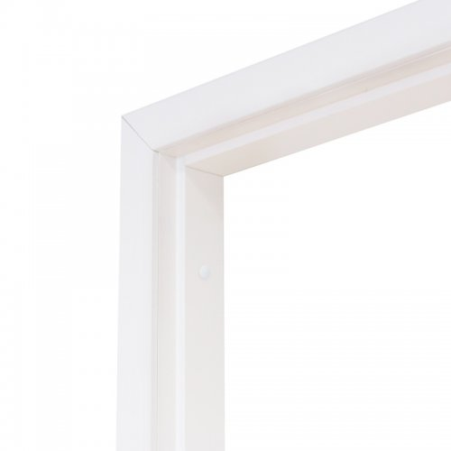Коробка дверная Олови белая ламинированная 600 мм с фурнитурой