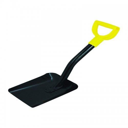 Лопата совковая металлический черенок укороченная Biber