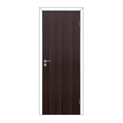 Полотно дверное Олови 900х2000 Венге, глухое, с замком 2014