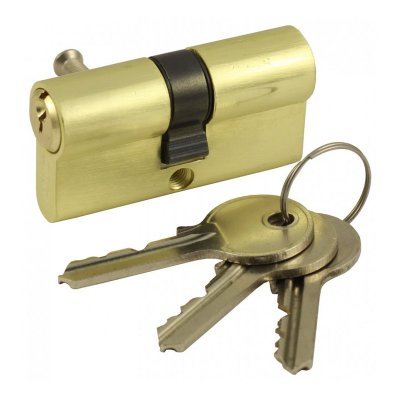 Цилиндр DIN ключ/ключ SCHLOSS (30+30) S 60 M золото