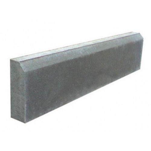 Бордюр серый Садовый 500х200х35