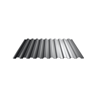 Профнастил С8 1,2х2 м 0,5 мм светло-серый RAL 7004